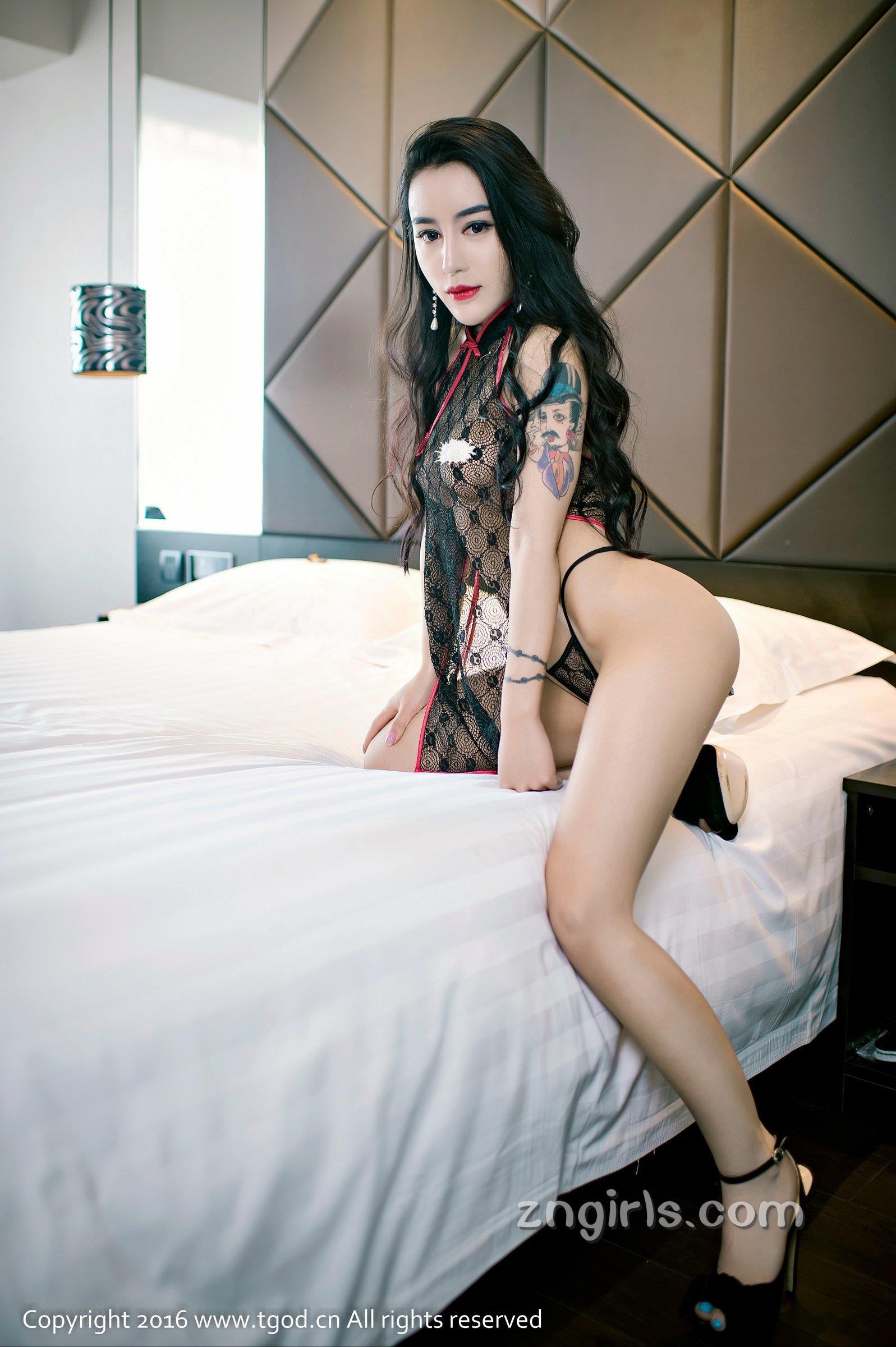 【TGOD】推女神陆梓琪babe翘臀丰胸冷艳美之美女禁处受辱