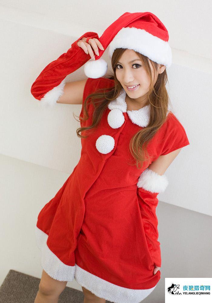 【岛国圣诞节写真】水谷心音圣诞节cosplay写真