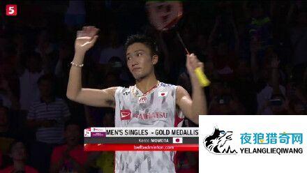 日本第一人!桃田贤斗夺世界羽毛球锦标赛男单冠军