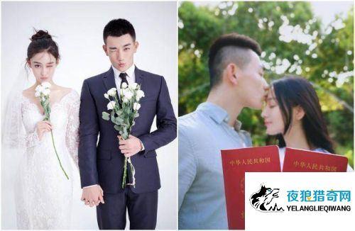"""范冰冰情敌""""嫁给爱情""""张馨予晒婚纱照和帅警结婚"""