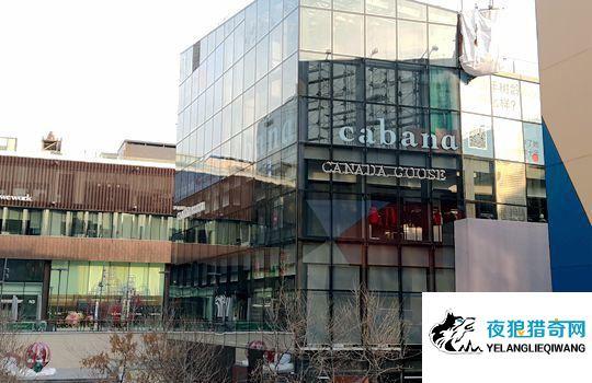 ▲15日上午,加拿大鹅北京店并未如期开业。中新经纬闫淑鑫摄
