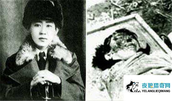 川岛芳子生死大揭秘,清朝格格被判死刑