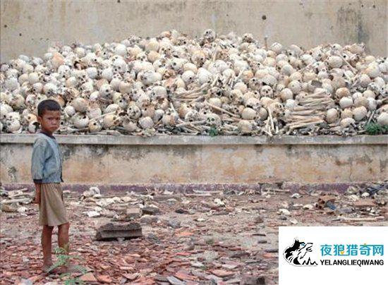红色高棉大屠杀,不服从管制的人们被屠杀