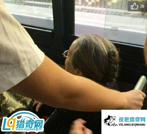 """网友公交偶遇""""容嬷嬷"""":她人挺好,没带针"""