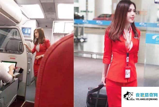 乘客偷拍正妹誉「亚洲最美空姐」 神出本人网友全心动