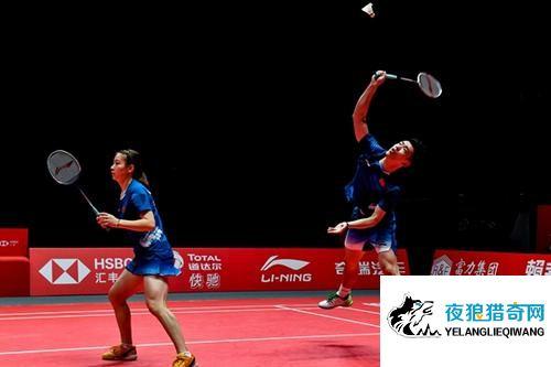 羽球亚锦赛首日:中国混双惊险不断